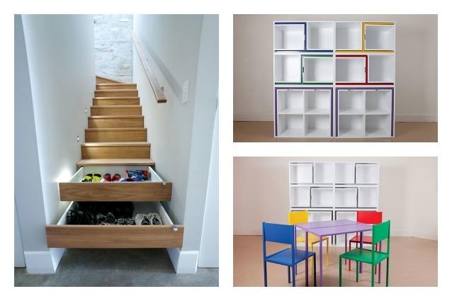 Idee salvaspazio le 20 migliori soluzioni per una casa - Casa piccola soluzioni ...