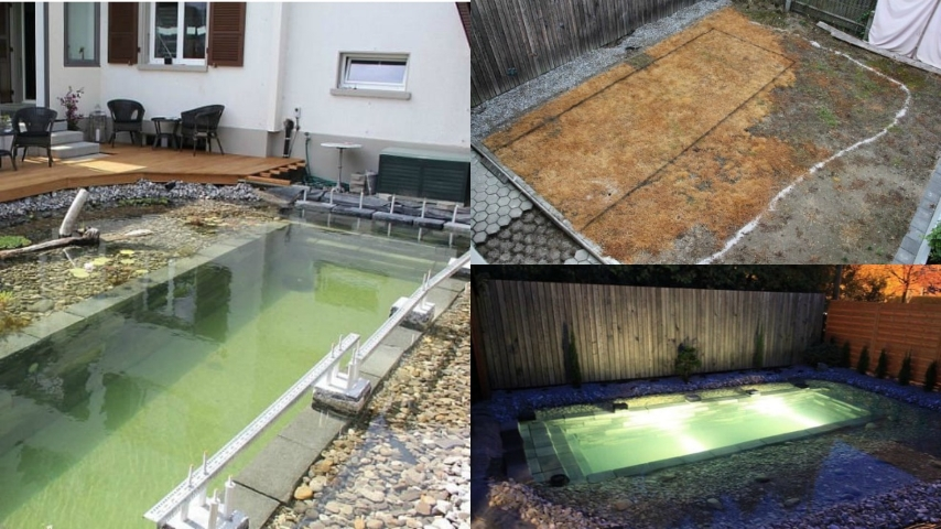 Come realizzare una piscina naturale fai da te for Piscina fai da te