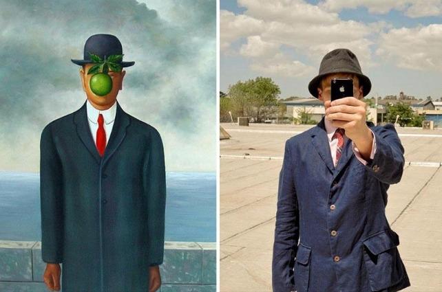 I remake moderni dei quadri più famosi