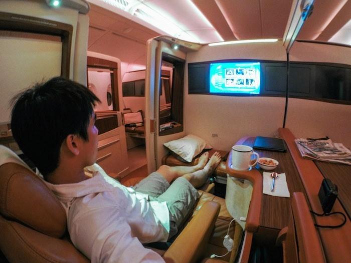 L 39 aereo pi lussuoso al mondo si prenota on line for First class 8 interieur