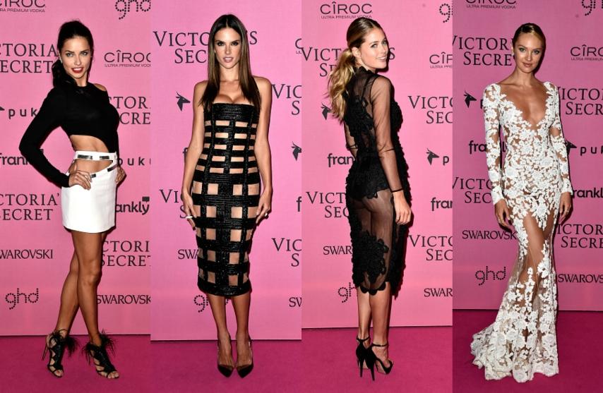 Assez Gli Angeli di Victoria's Secret sul tappeto rosa: diamo i voti ai  YQ09