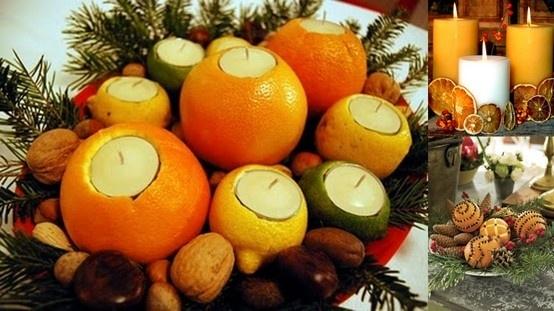 Come realizzare un centrotavola natalizio fai da te - Centrotavola natalizio idee ...