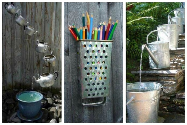 20 modi originali per riutilizzare i vecchi utensili da cucina