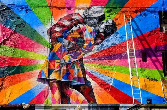 street art i murales pi spettacolari del mondo. Black Bedroom Furniture Sets. Home Design Ideas