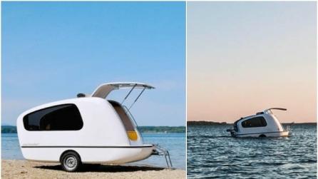 Da roulotte a casa galleggiante: ben arrivata Sealander