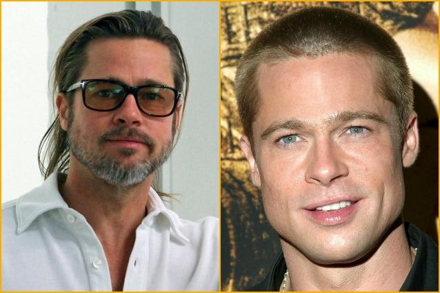 I divi di hollywood con e senza la barba - Altezza divi di hollywood ...