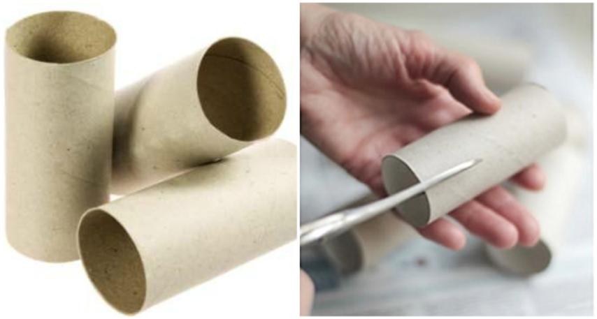 Rotoli Di Carta Igienica Riciclo : Come riciclare i rotoli di carta igienica in modo semplice e