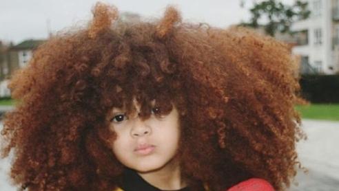 Farouk James, il bambino con i ricci più belli del web