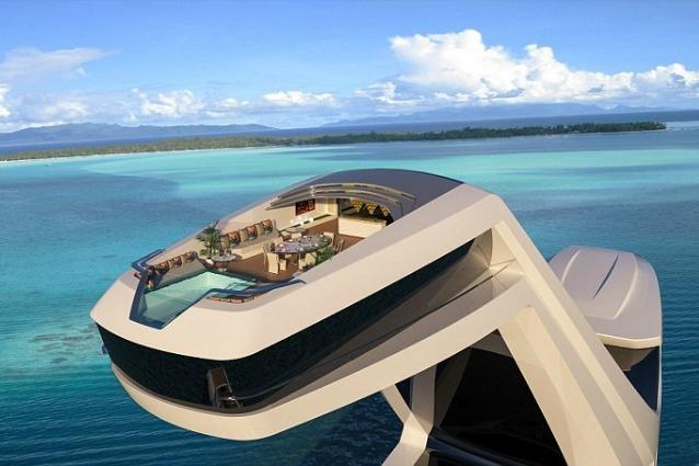 Ecco lo yacht pi bello del mondo for Costo di raccordo della cabina di log