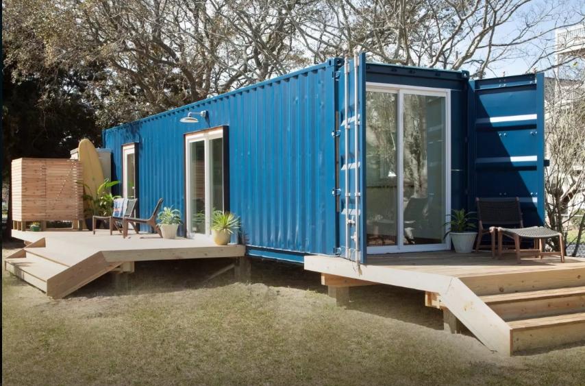 Costruisce una casa in un container ma gli interni sono di for Crea il tuo software di casa