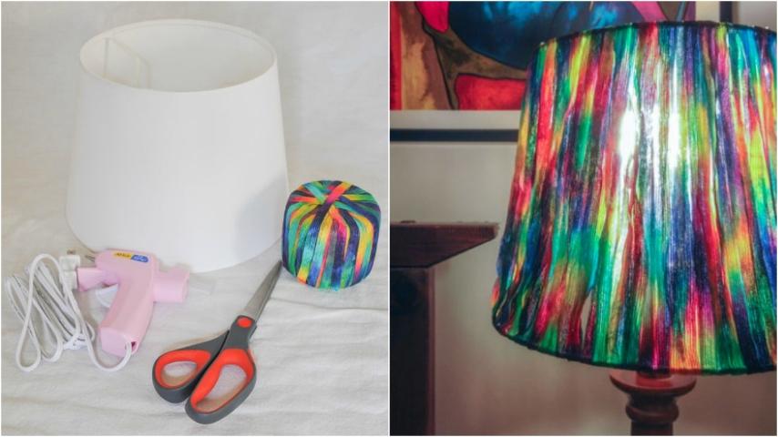 Lampada Barattolo Fai Da Te : Come realizzare una lampada fai da te effetto arcobaleno
