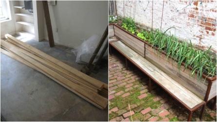 Come riciclare una vecchia sedia in legno e costruire un for Costruire un altalena in legno