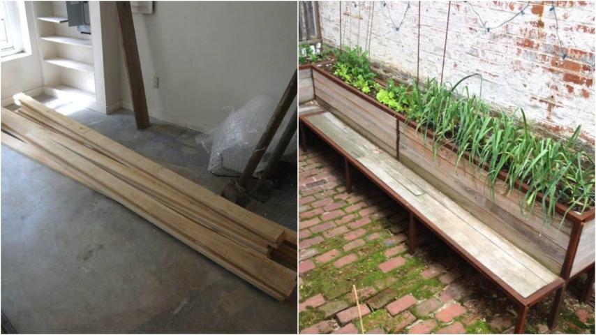 Come costruire una panchina in legno per il giardino un - Come costruire una cucina in legno ...