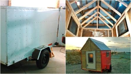 Meno di 25000 euro per costruire la propria mini casa mobile for Costruire la propria casa