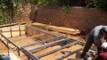 Costa rica scava per 12 anni sotto terra e crea la casa - Letto anti terremoto ...