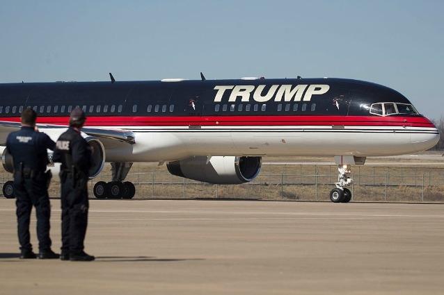 Aereo Privato Di Abramovich : Sul jet personale di donald trump