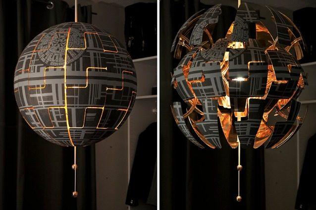 Lampada Fiore Rosa Ikea : La lampada ikea ps 2014 diventa la morte nera di star wars