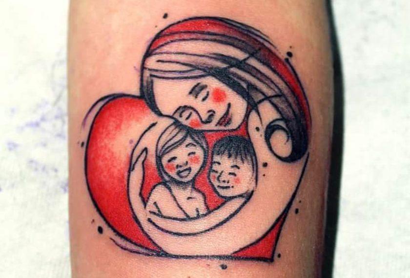 Tatuaggi per le mamme i pi belli dedicati ai figli for Tatuaggi dedicati ai figli