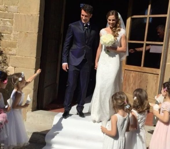 Matrimonio Pietro Romano : Le foto del matrimonio di pietro titone e ilaria natali