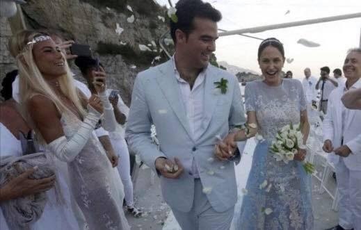 Matrimonio Vittorio Romano : Il matrimonio di lusso noemi letizia con vittorio romano