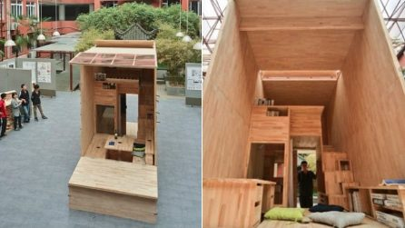 Le 10 case pi piccole del mondo ma con tutti i comfort - Minibar in legno per casa ...