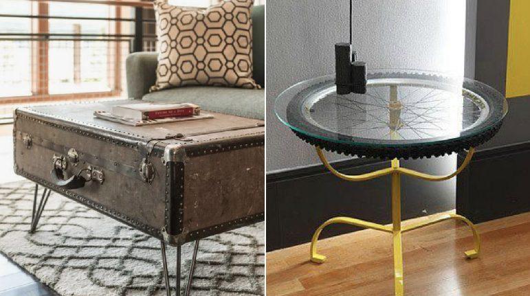 Gli oggetti comuni si trasformano 12 tavoli fai da te che for Fai da te oggetti