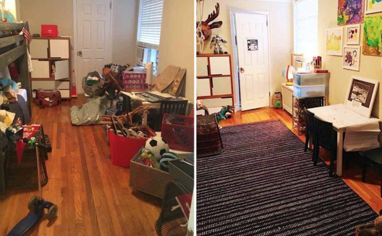 Prima e dopo 8 foto che ti faranno venir voglia di - Riordinare la casa ...