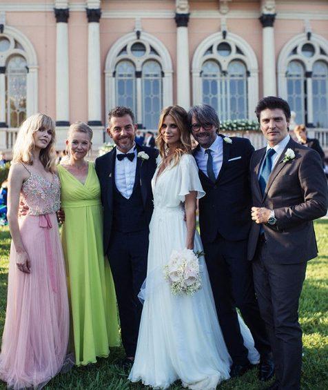 Matrimonio Bossari Lagerback : I look degli invitati al matrimonio di daniele bossari e