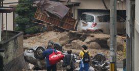 Giappone, emergenza alluvioni: almeno 100 morti