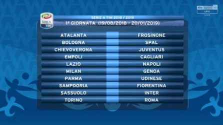 Il Calendario Della Serie A 2018 2019