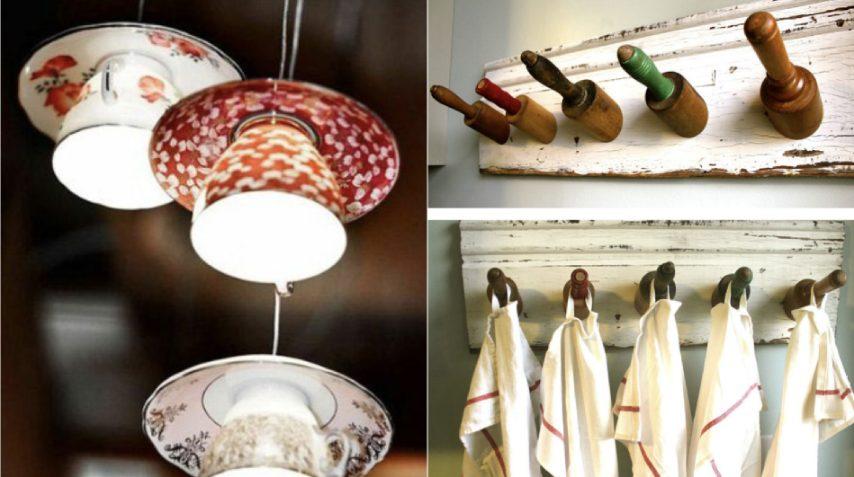 Come trasformare vecchi utensili da cucina in oggetti di design: le ...