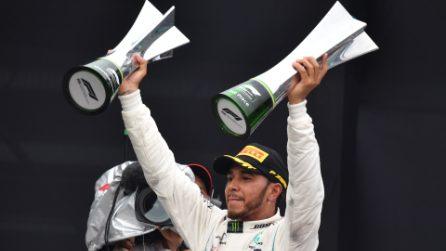 Mercedes fa festa in Brasile, le Frecce d'argento vincono il 5° titolo costruttori consecutivo