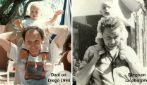 Raccoglie foto della famiglia di diverse generazioni e mostra le somiglianze impressionanti