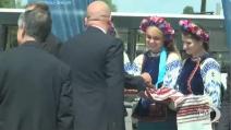 Euro 2012, l'arrivo degli azzurri a Kiev - VIDEODOC
