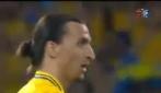 La super sforbiciata di Ibrahimovic in Svezia-Francia