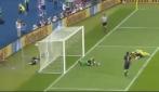 Il primo gol di Shevchenko in Ucraina-Svezia