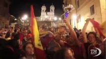 A piazza di Spagna... spagnoli in festa, italiani delusi -VIDEODOC