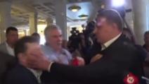 kiev, legislatori vengono alle mani in Parlamento