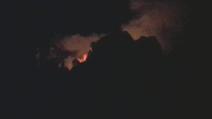 Incendio a Positano le prime immagini