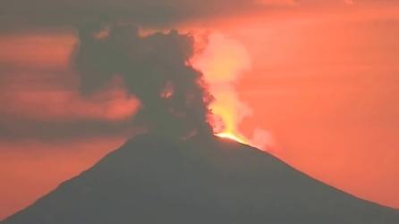 L'eruzione dello Stromboli dell'8 Agosto 2014