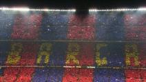 Brividi al Camp Nou: i tifosi cantano l'inno del Barça