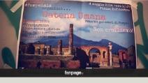 Catena umana per Pompei, un flash mob per salvare gli Scavi