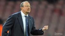 """Benitez: """"L'obiettivo del Napoli resta il secondo posto"""""""