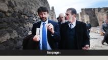 """Pompei, Franceschini: """"Non abbiamo la bacchetta magica"""", ma sugli appalti non risponde"""