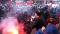 Manifestazione Roma 12 aprile: gli scontri