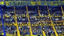 """""""Dale Boca"""", uno dei cori più famosi della """"12"""", la curva del Boca Juniors"""