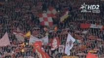 """Anfield Road canta """"You'll never walk alone"""" prima di Liverpool-City"""