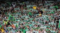 La magia del Celtic Park, spettacolare coro dei tifosi scozzesi