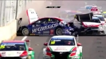 2014 WTCC Marrakech: incidente al via e gara sospesa in gara 2