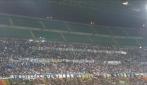 La protesta della Nord contro la FIGC